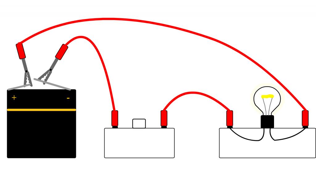 Commander l'allumage d'une lampe avec un interrupteur
