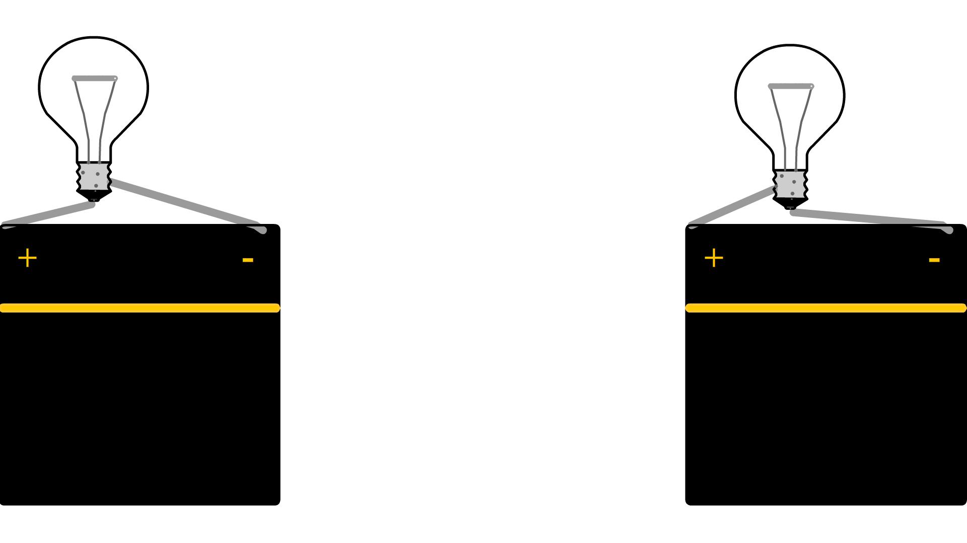 R alisation d 39 un circuit lectrique cours - Lampe pour tableau a pile ...