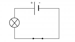 création schéma normalisé d'un circuit en série étape 3