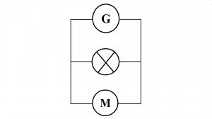 création schéma normalisé d'un circuit en dérivation étape 3