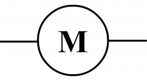 symbole normalisé du moteur
