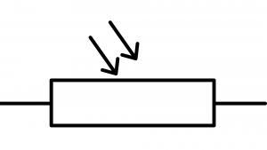symbole normalisé photoresistance