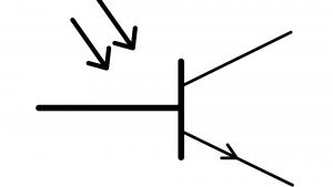 symbole-phototransistor