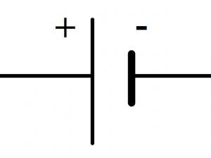 Pile symbole normalisé
