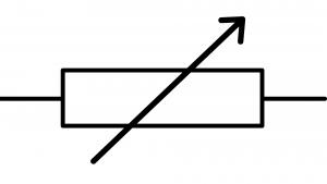 symbole résistance variable