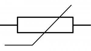 symbole normalisé thermistance