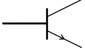 symbole normalisé transistor