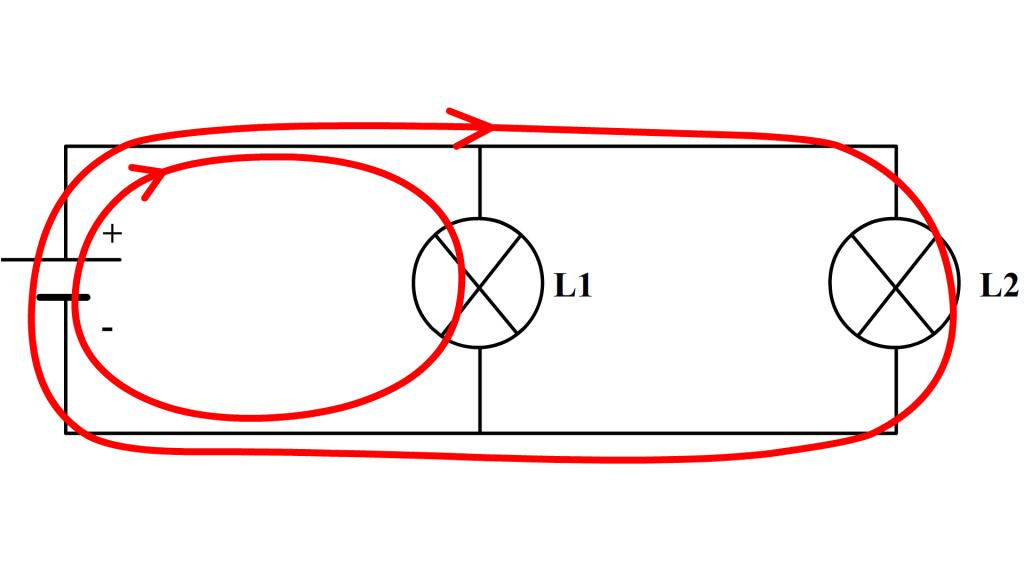 exemple de circuit en dérivation