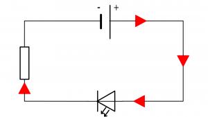 circuit del en serie passante