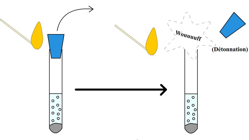 Test du dihydrogène